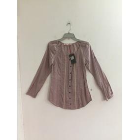 Blusa Marca Mor Talla S Palo Rosa Color