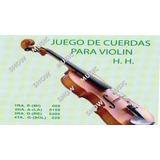 Cuerdas Para Violin Economicas Juego Completo
