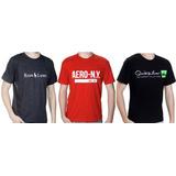 Kit 10 Camisetas Varias Marcas Atacado Revenda Barato Oferta