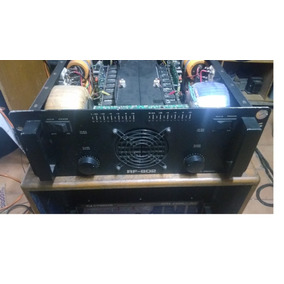 Amplificador Times One Rf-802 - Potencia De 4.000w Rms