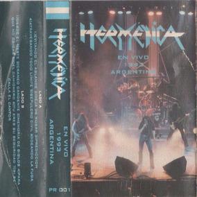 Hermetica En Vivo 1993 Argentina - Cassette Original Iorio