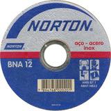 Disco De Corte Aço Extra Fino Bna12 7x1/16 X 7/8 Norton