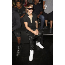 Babucha Chup Brillosa Simil Cuero Swag Stylo Justin Bieber