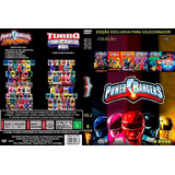 Coleção Power Rangers 6 Dvds Volume 2