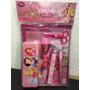 Princesas Estuche Y Cuaderno Disney Store Original 11 Piezas