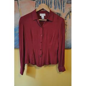 Camisa De Seda Roja