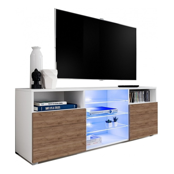 Mesa Tv Led 160cm Mueble Rack Moderno Modular Mod. Munich 21