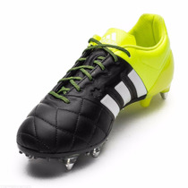 Chuteira Adidas Ace 15.1 Sg Couro Pro Leather Novo 1magnus