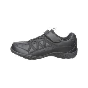 Skechers, Tenis Niño, 17 Mx, Negro, Ht0014