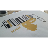 Franelas Mapa Venezuela Al Mayor, Vinil Textil...