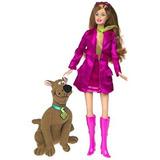 Juguete Barbie Como Daphne De Scooby Doo La Muñeca Barbie