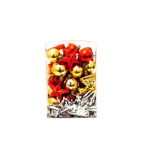 Cajas Set De Bolas / Figuras /adornos Navideños 40 Piezas!!!