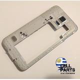 Marco Galaxy S5 Plateado Completo Cell Parts, Vea Fotos