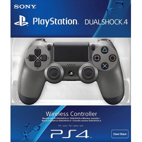 Controle Dualshock 4 Steel Black - Playstation 4