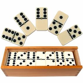 Juego De Domino Con Estuche De Madera (nuevo)