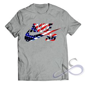 Camisa Camiseta Nike Sb Usa - Marca Famosa Bandeira Eua