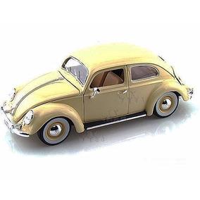 Volkswagen Käfer Beetle 1955 Escala 1/18 Burago Colección