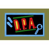 Patch Bordado Dpa - Detetive Prédio Azul - Etiquetas Capas