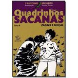 Livro - Quadrinhos Sacanas - Livro 4 - Marrom - Caixa 2