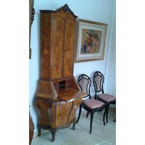 Mueble Barrocchetto O Rococo De Estilo Italiano C/ Alzada