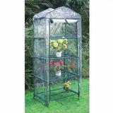 Invernadero Mediano Ideal Jardin Huerta 89x49x155 Cm