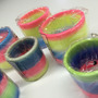 30 Mola Maluca Varias Cores Brinquedo Criança Pulseira