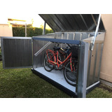 Depósito De Jardín, Guarda Bicicletas De Chapa 194x097x130