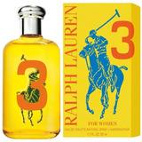 Perfume Polo Big Pony Yellow # 3 Fem Ralph Lauren Edt 50ml