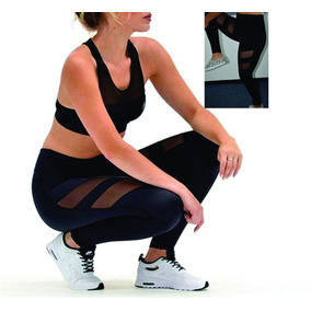 Leggings Transparencia Sports Yoga Gym Deportes Moda Elegant