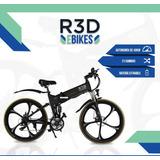 R3d Ebike Luxe 350w 32km/h Bicicleta Eléctrica Motor #r3d
