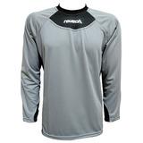 Camisa De Goleiro Reusch Steeler Gray Ml - Queima De Estoque 9199083e91bbc