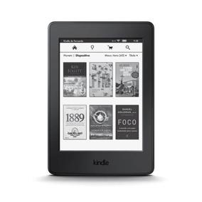 E-reader Amazon Kindle Paperwhite Preto Com Tela De 6 Wi-fi