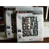 Play 3 Jue Metal Gear Solid Legacy Collection 2 Discos Nuevo