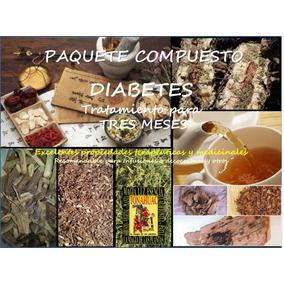 Paquete Compuesto (diabetes + Gastritis) Mezcla Hierbas 3m