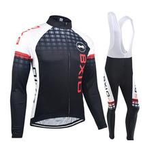 Uniforme De Ciclismo Calido Para Frio Jersey Bici,ruta Jer01