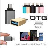 Adaptador Otg Usb Tipo C Macho A Usb Hembra 3.1 Macbook S7