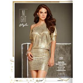 Vestido Cklass Dorado Temporada Otoño Invierno 2016 Nuevo