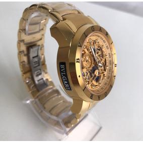Relógio Iron Man Dourado!