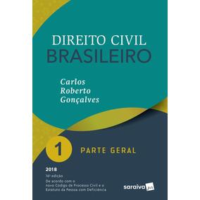 Direito Civil Brasileiro - Parte Geral - Vol. 1 - 16ª Ed.