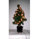 Arbol De Navidad De 60 Cm Con Fibra Optica