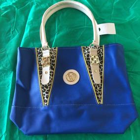Bolsa Feminina Promoção Barata Top 890-940 Azul Royal F Grat