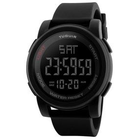 Relógio Masculino Tuguir Tg1257 Digital Preto Com Nf