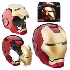 Marvel Capacete Eletrônico Iron Man Novo Caixa Lacrada