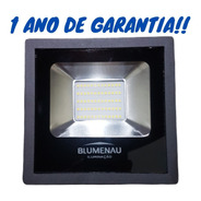 Refletor Led 50w Slim 6000k Luz Branca Ip65 Com Garantia