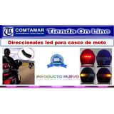 Luces Leds Direccionales Inalambrica Para Casco Moto