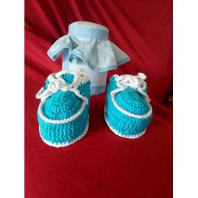 Sapatinhos De Crochê Para Bebe