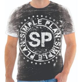 Camisa Simple Plan - Camisetas e Blusas no Mercado Livre Brasil a4a73847dc6