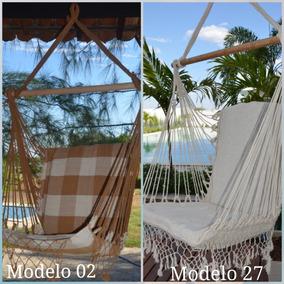 Kit 04 Rede Cadeira De Balanço Luxuosa + Frete Grátis + Brd