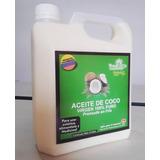 Aceite De Coco Extra Virgen Certificado Galon 3 Litros