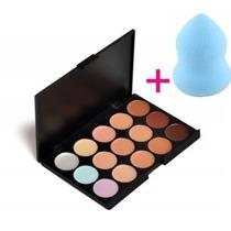 Paleta Corretivo Jasmyne Mary Kay Mac Base Beauty Blender